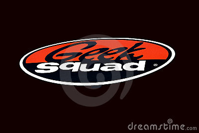 Geek Squad Logo Editorial Stock Image
