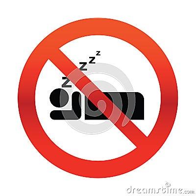 Geen het Snurken Teken
