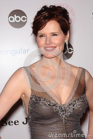 Geena Davis Editorial Stock Photo