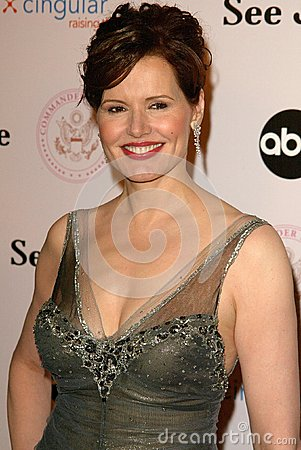 Geena Davis Editorial Stock Image
