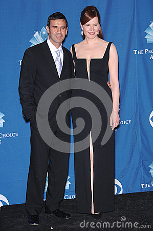 Geena Davis,Reza Jarrahy Editorial Stock Photo