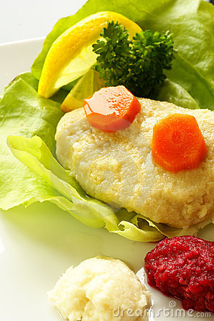 Free Gefilte Fish Royalty Free Stock Photography - 14367237