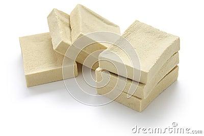 Gefriertrocknete Bohnengallerte