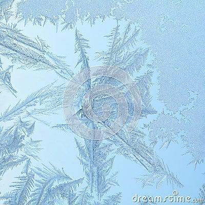 Gefrorenes fenster mit glasmuster lizenzfreies stockbild bild 6689246 - Fenster justieren anleitung mit bildern ...
