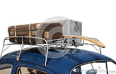 Gehen auf eine Reise mit meinem Auto