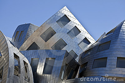 Gehry Building Las Vegas Editorial Photo