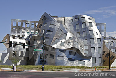Gehry Las Vegas Editorial Photo