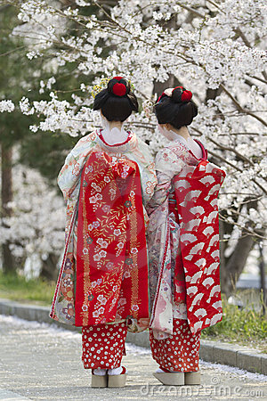 Geiko & Sakura Editorial Photography