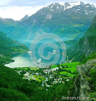 Free Geiranger, Norway Royalty Free Stock Photo - 5685975