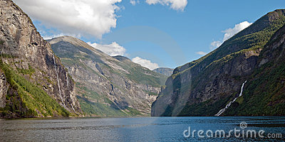 Geirangerfjord, UNESCO World Heritage Site, Norway