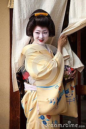 Geisha Editorial Stock Photo