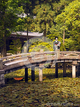Geisha at Chion-in Temple - Japan Editorial Image