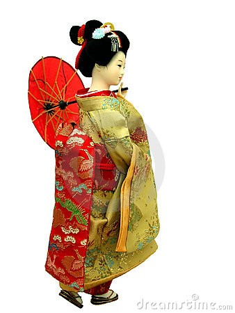 Free Geisha Doll Royalty Free Stock Image - 452026