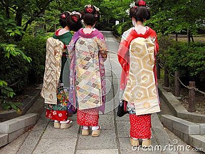 Geisha drei