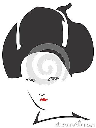 Geisha Face 01