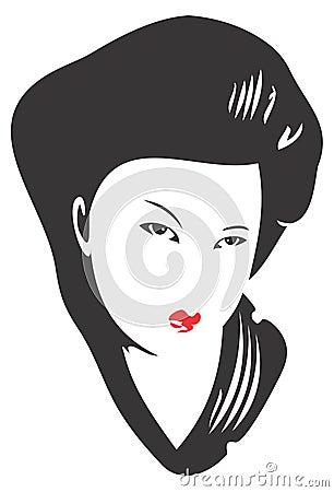 Geisha Face 02