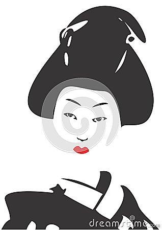 Geisha Face 03