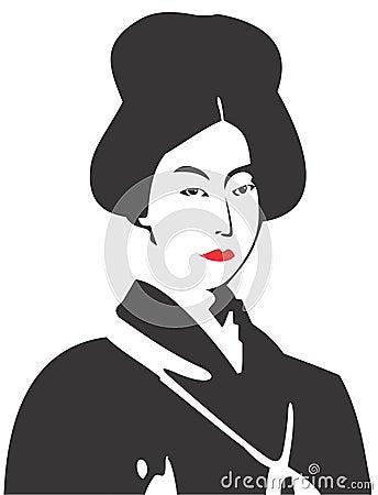 Geisha Face 08