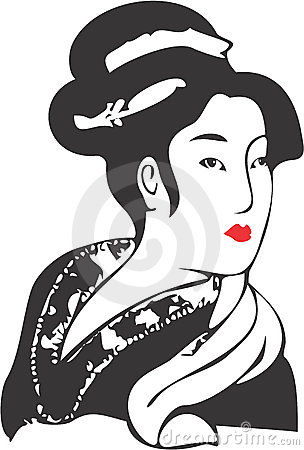 Free Geisha Face 11 Royalty Free Stock Images - 3285199