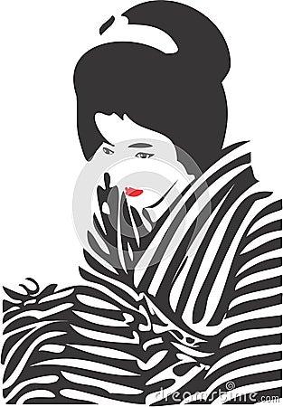 Free Geisha Face 12 Stock Image - 3285301