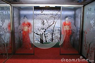 Geisha interior