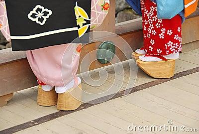 Geisha s shoes