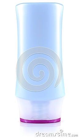 Gel for shower in bottle