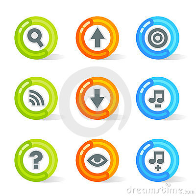 Free Gel Web Icons (vector) Stock Image - 2808611