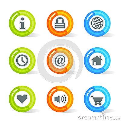Gel Web Icons (vector)