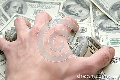 Geld. Alle mijn!