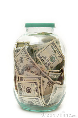 Geld in bank