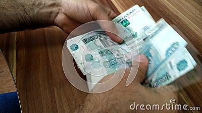 Geld Billds cash Zaken - leef stock footage