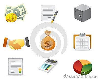 Geld en het Pictogram van Financiën #2