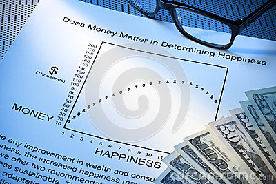 Geld-Glück-Arbeits-Leben-Schwerpunkt