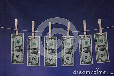 Geld-Zeile