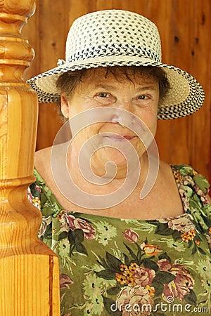Geliefde grootmoeder