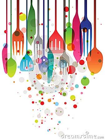 Gelukkig feest stock afbeelding afbeelding 25635781 for Utensilios de chef