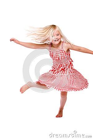 Gelukkige dans