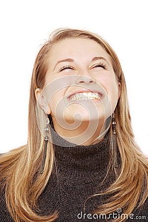 Gelukkige glimlach