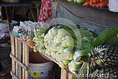 Gemüse auf Markt