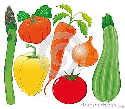 Gemüsefamilie.