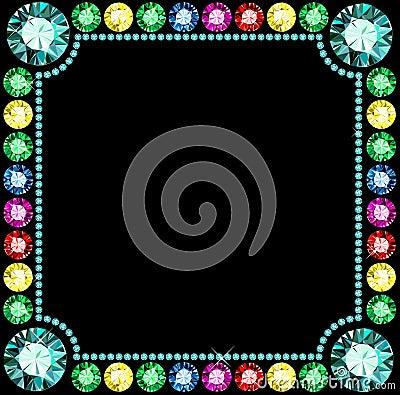 Free Gem Frame Stock Images - 36916714