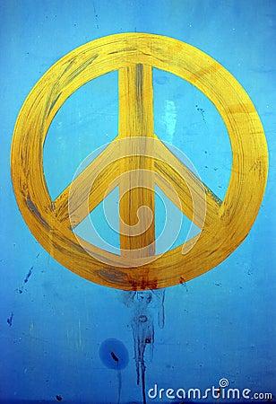 Gemalter Frieden