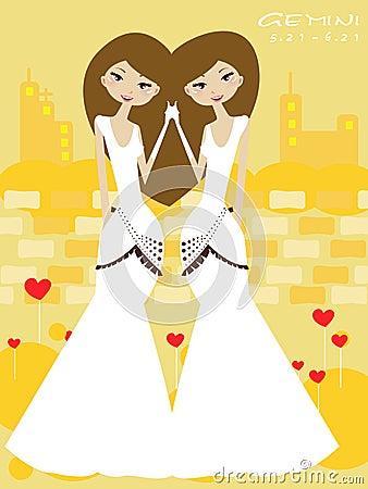 Gemini bride