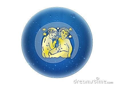 Gemini - Zodiac Golden Sign
