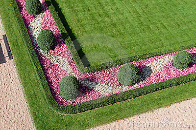 Gemodelleerde tuin