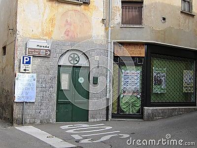Gemonio, Italy Editorial Stock Image