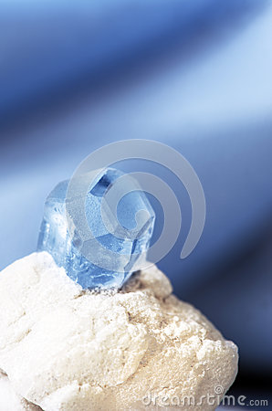 Gemstone aquamarine