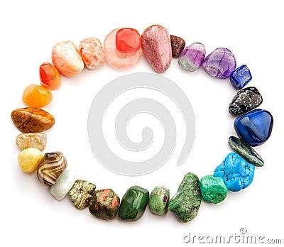 Gemstone color spectrum