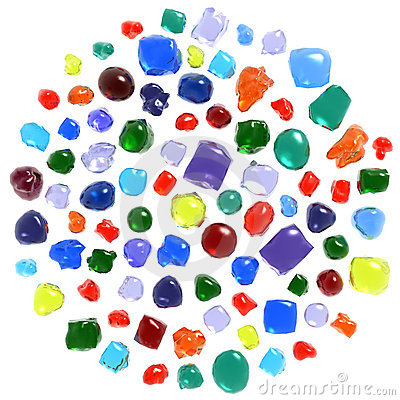 Gemstones set